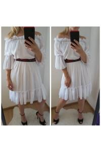 rochie fiona alba