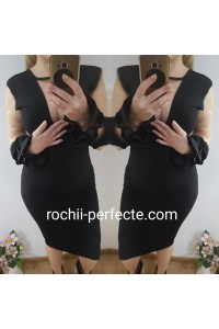 rochie gaby negru