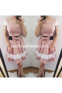 Rochie Ana roz