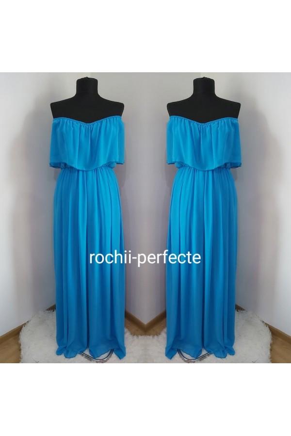 rochie jasmin albastra