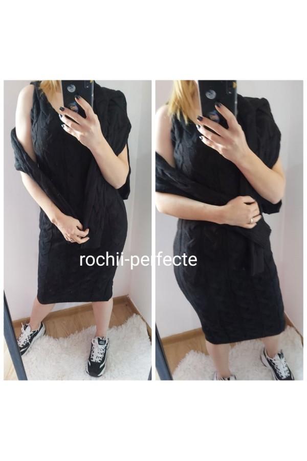 set rochie neagra 03
