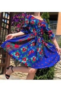 Rochie Irma albastru