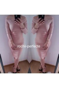 rochie agnes roz