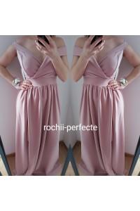 rochie ady roz pudra