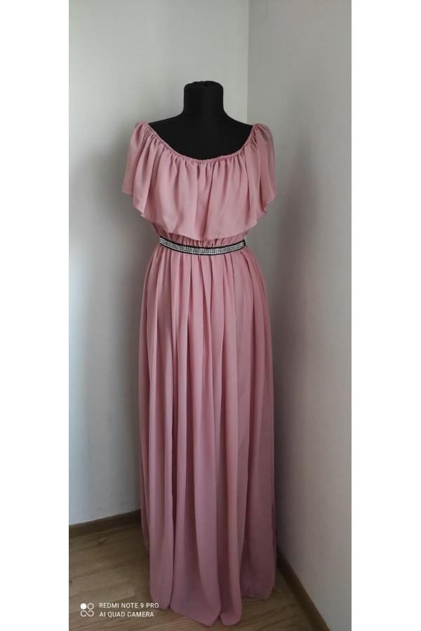 Rochie Jasmin roz pudra