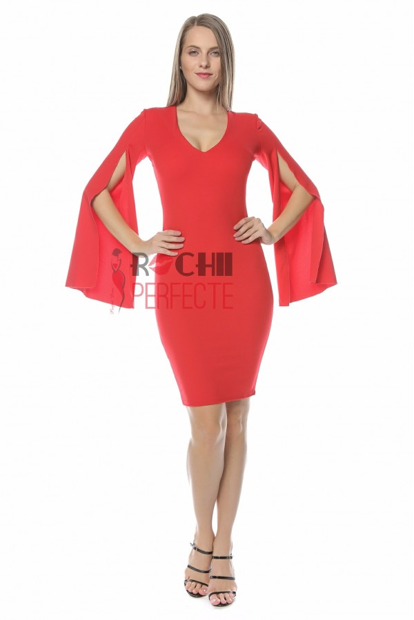 rochie VIVI rosie