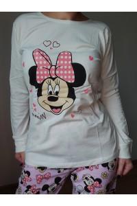pijama bumbac minnie 02