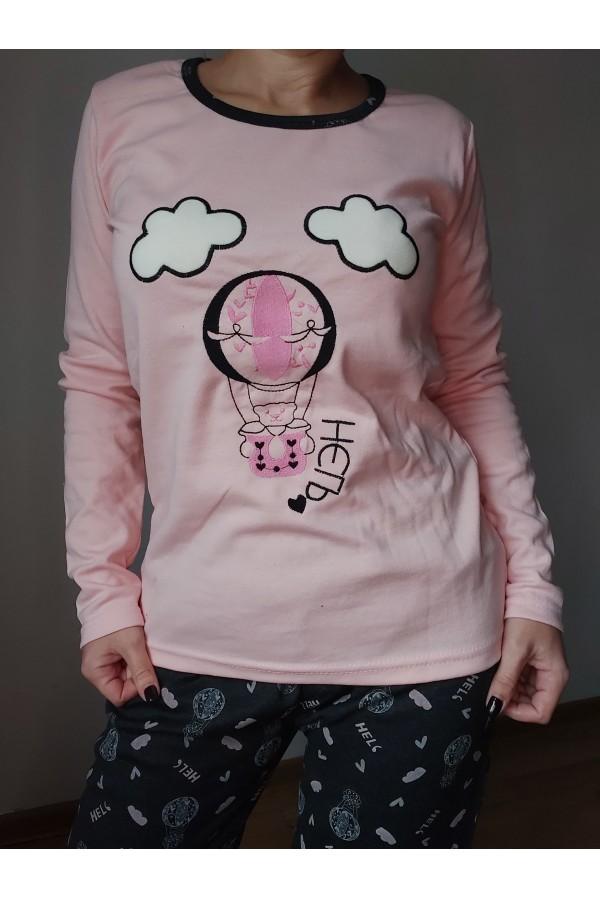 pijama bumbac gros baloon