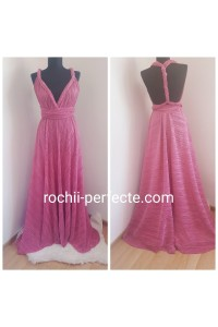 rochie versatila roz special