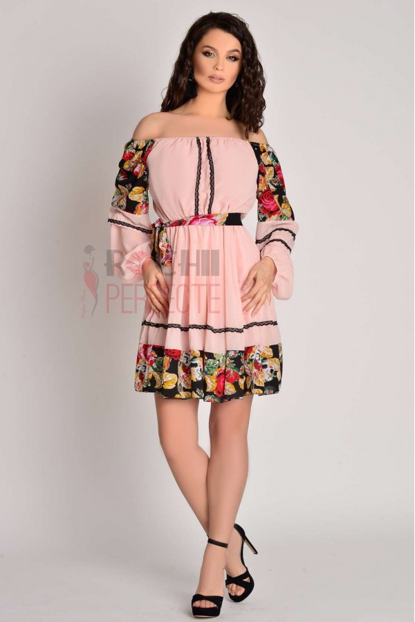 rochie aria roz