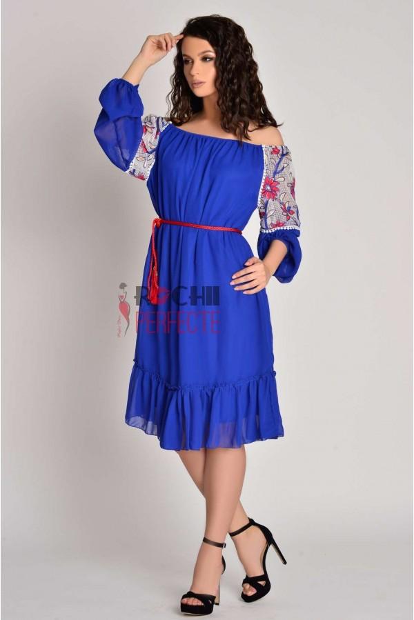 rochie summer albastra